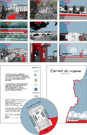 Illustration animation film Carnet de voyage